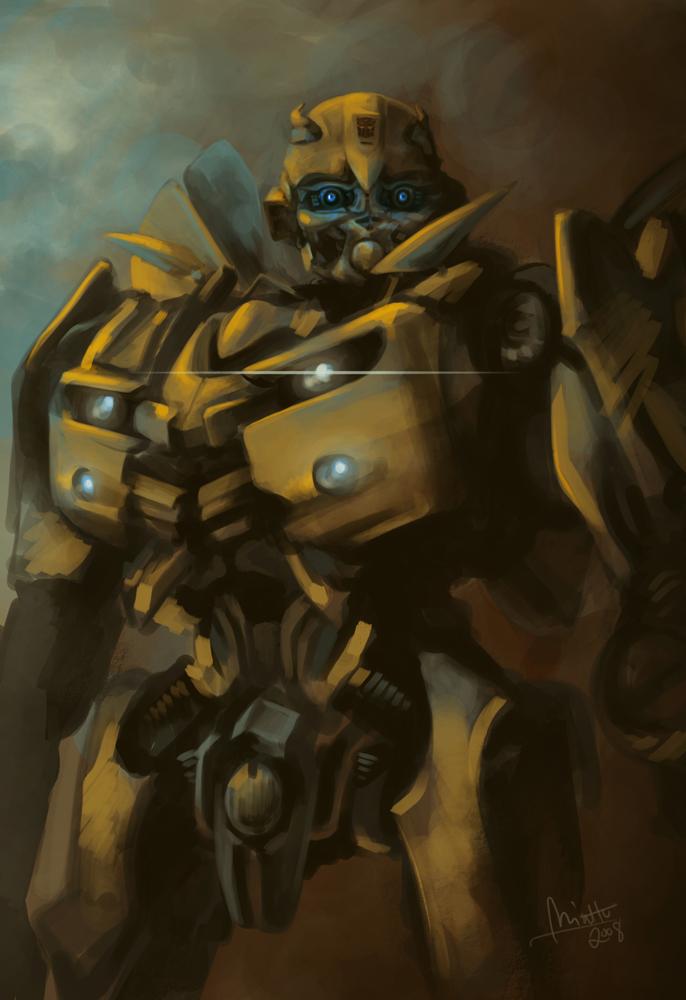 Bumblebee by TheMinttu