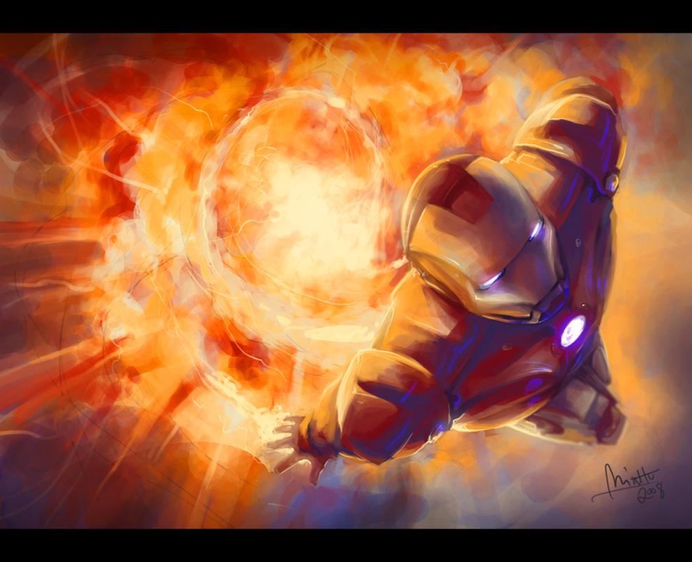 Iron Man by TheMinttu