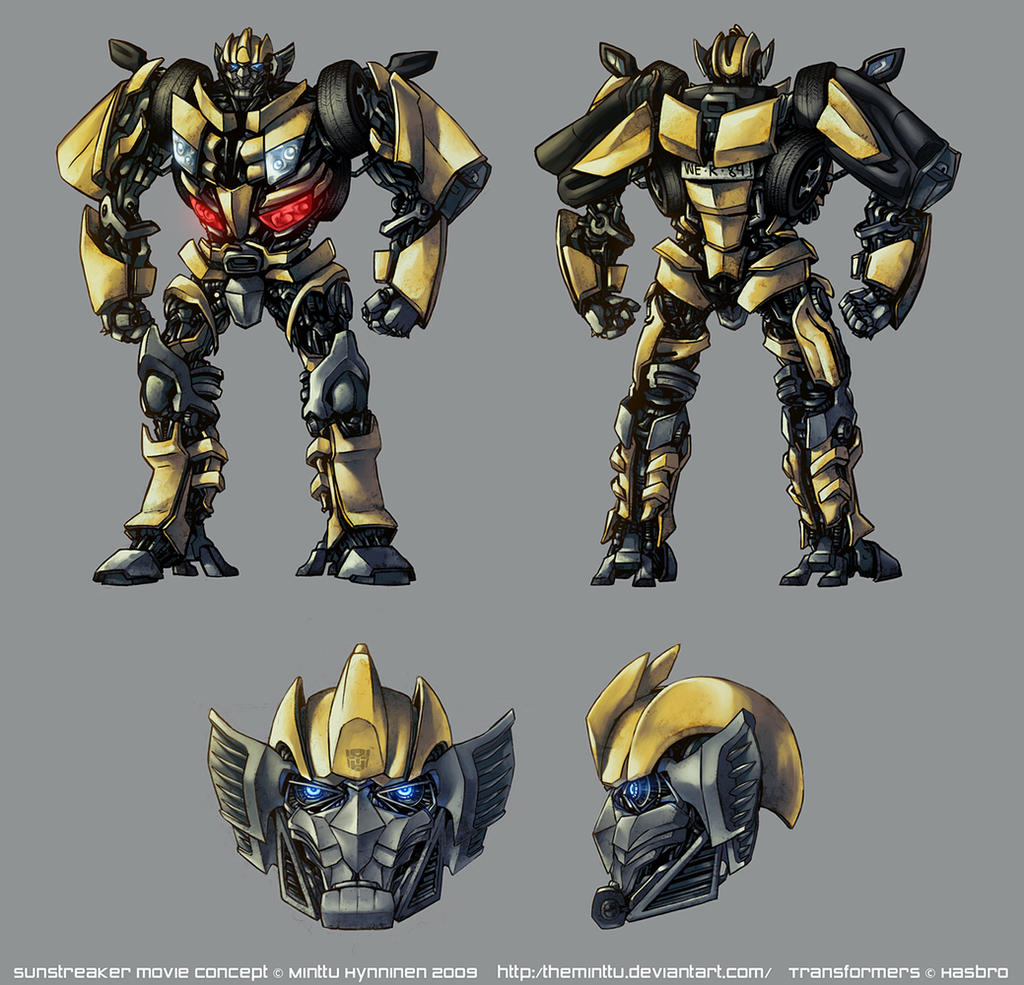 Sunstreaker: Movie Concept by TheMinttu on DeviantArt