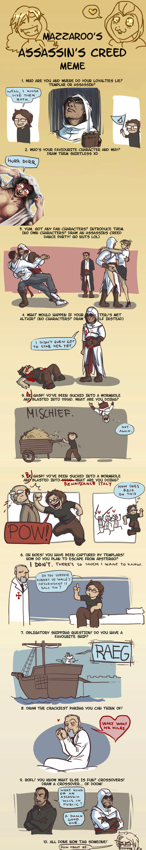 Assassin's Creed Meme by TheMinttu