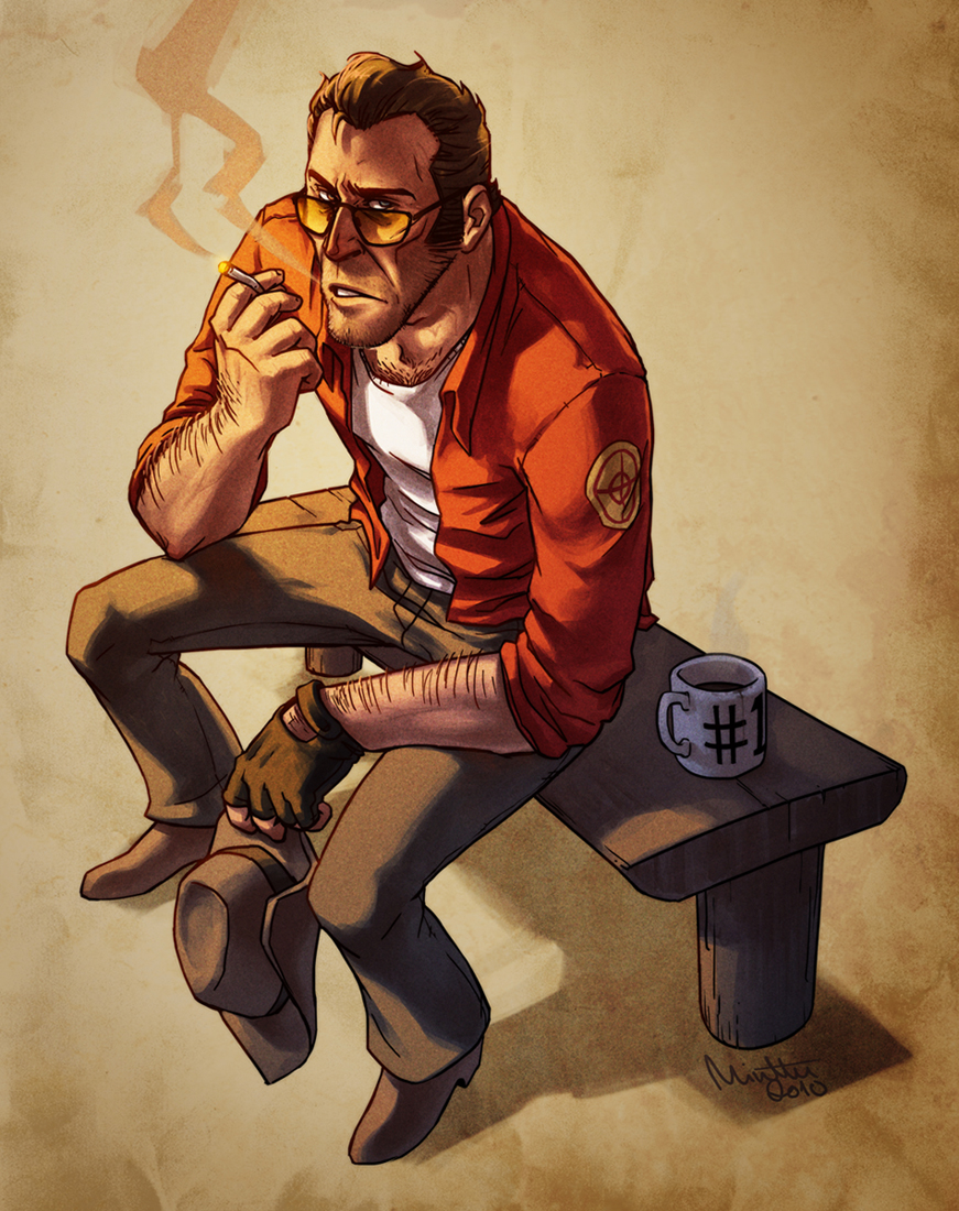TF2 - Morning Sniper by TheMinttu