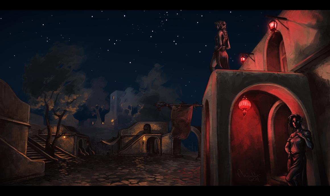 A Quiet Night in Suran by TheMinttu