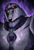 TF: Prime - Megatron by TheMinttu
