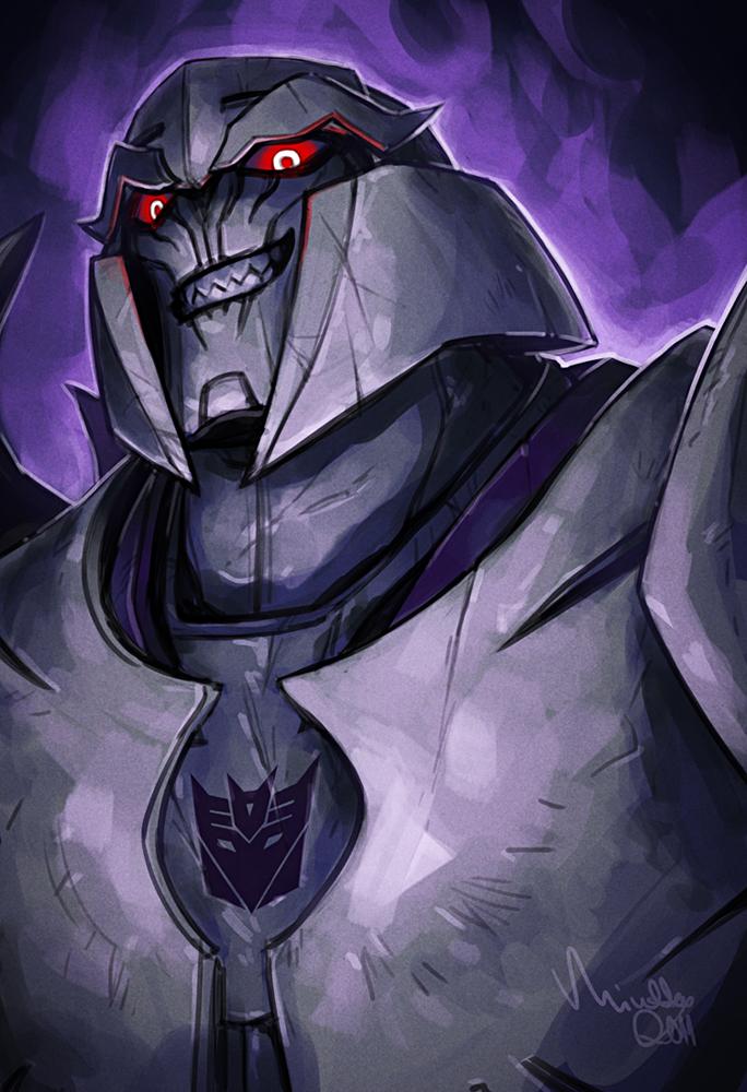 [Pro Art et Fan Art] Artistes à découvrir: Séries Animé Transformers, Films Transformers et non TF - Page 4 Tf__prime___megatron_by_theminttu-d4ay8jw