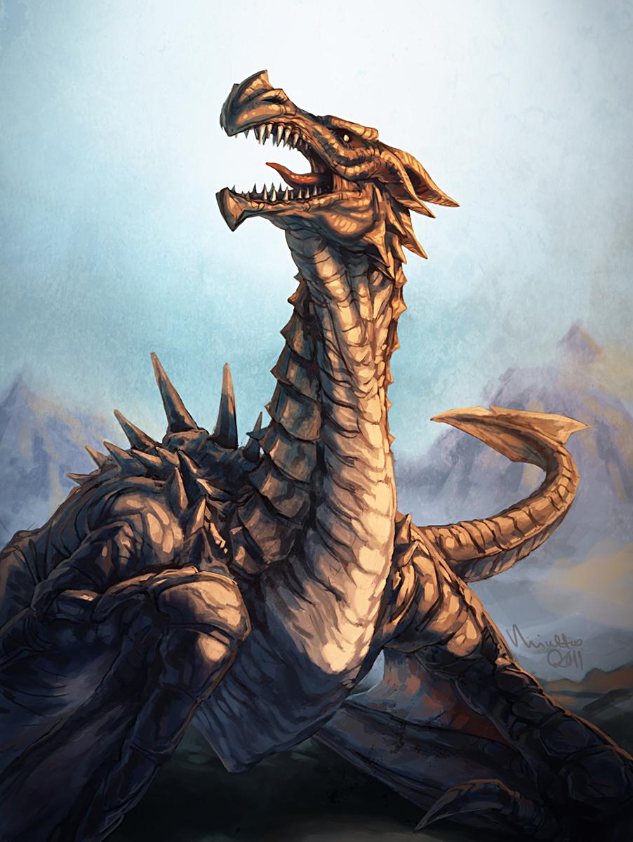 Dragon by TheMinttu
