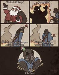 Pyro saves Christmas