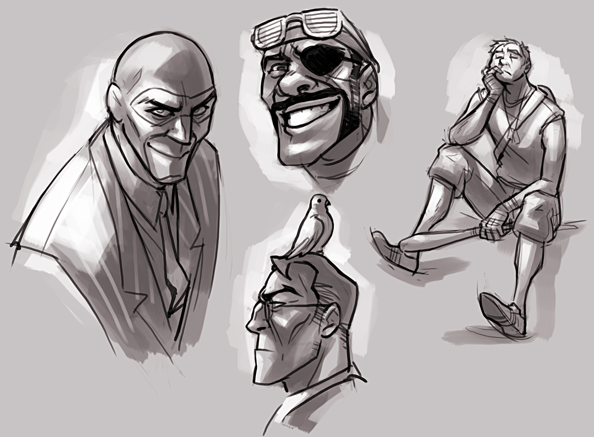 TF2 Doodles By TheMinttu On DeviantArt