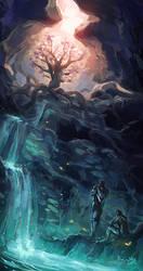 The Eldergleam Sanctuary by TheMinttu
