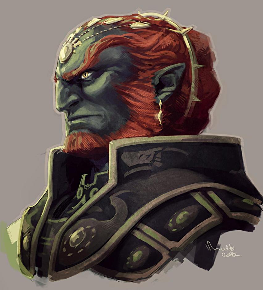 Ganondorf by TheMinttu