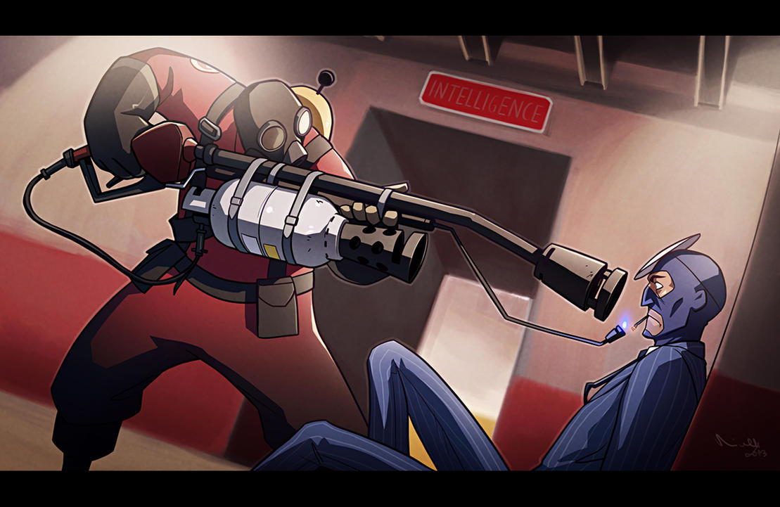 TF2 - Spycheck by TheMinttu
