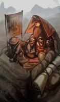 Redoran caravan by TheMinttu