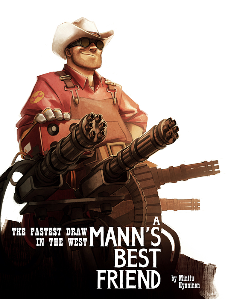 TF2 - A Mann's Best Friend by TheMinttu