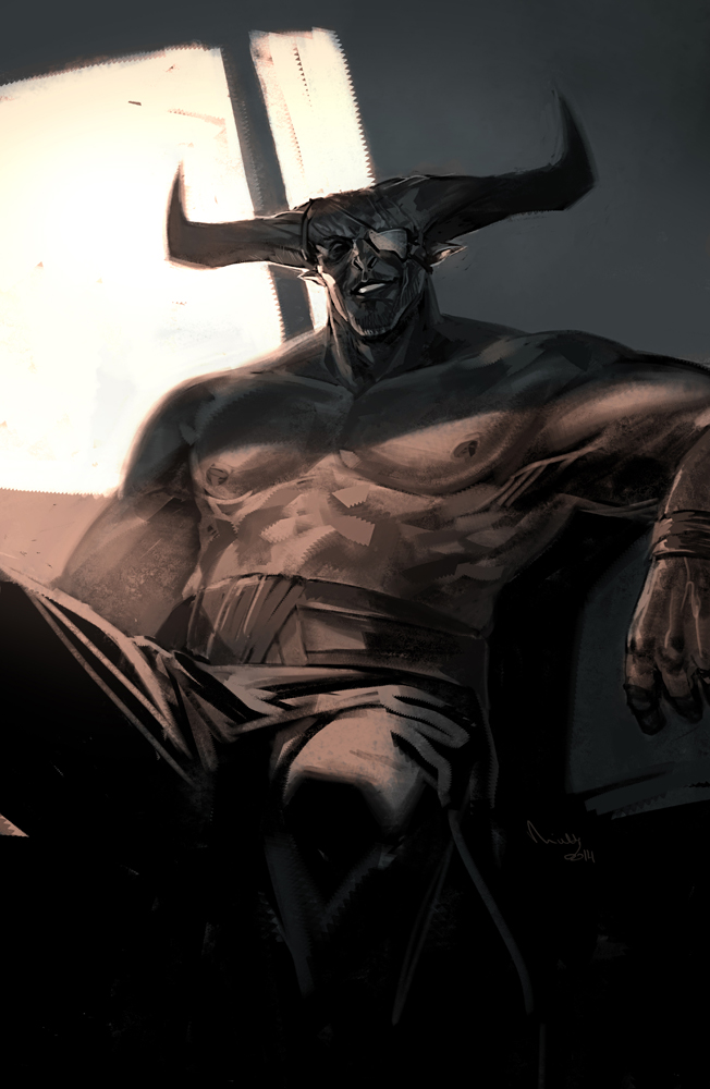 Iron Bull by TheMinttu