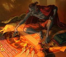 Dunmer merchant