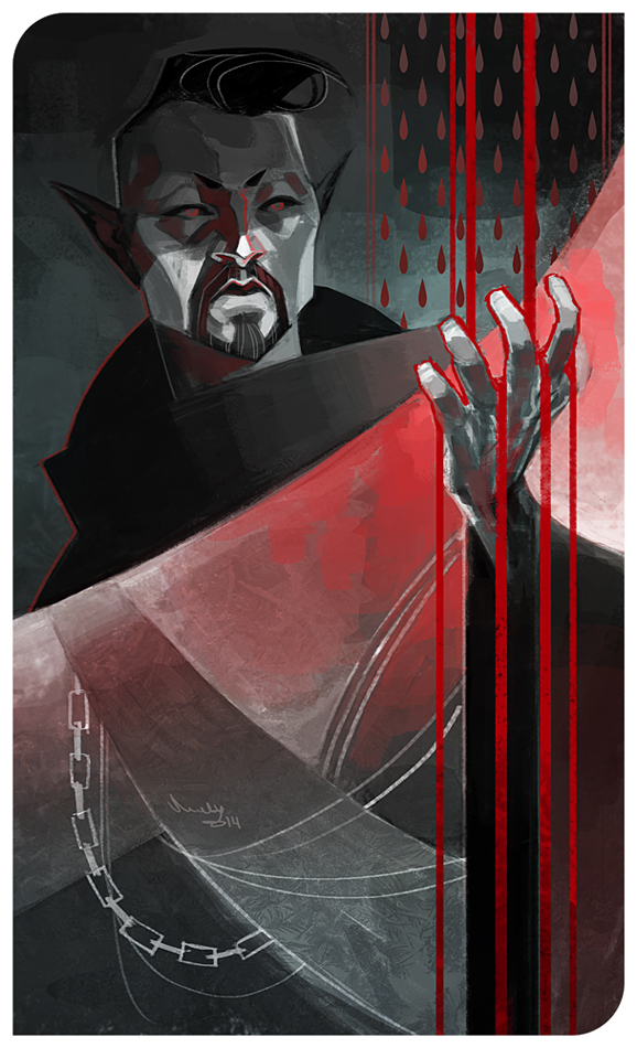 Vadril - Blood Magic by TheMinttu