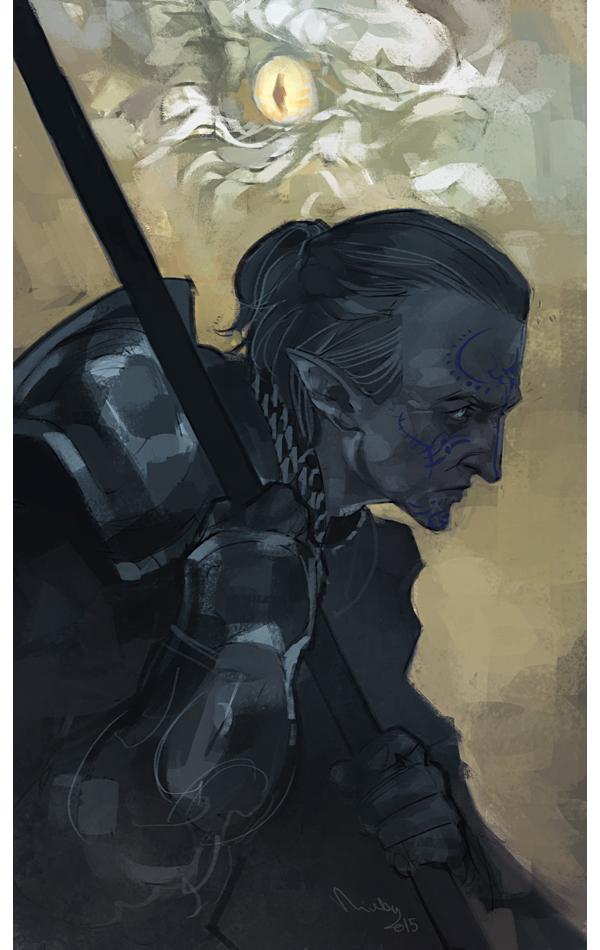 Inquisitor Ameridan by TheMinttu