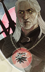 The Witcher 3 - Geralt by TheMinttu