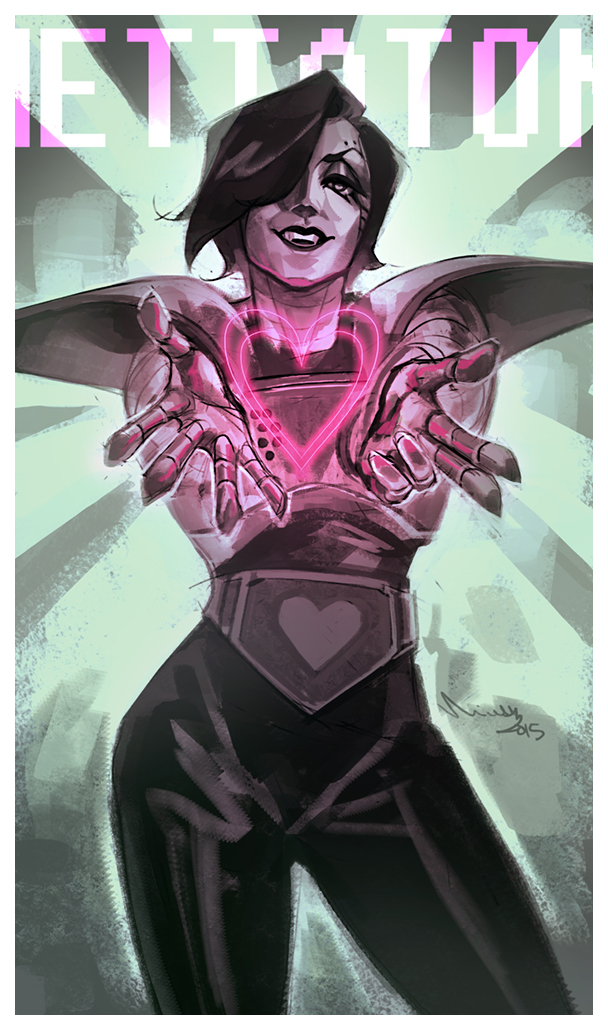 Mettaton by TheMinttu