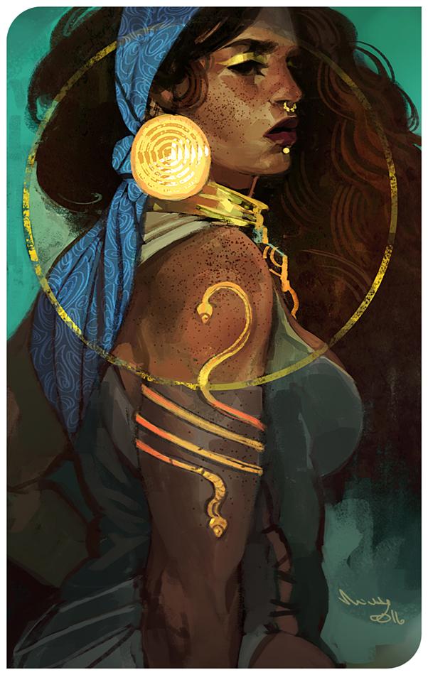 Pirate queen by TheMinttu