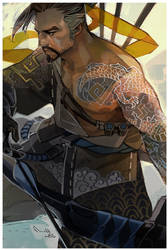 Hanzo by TheMinttu