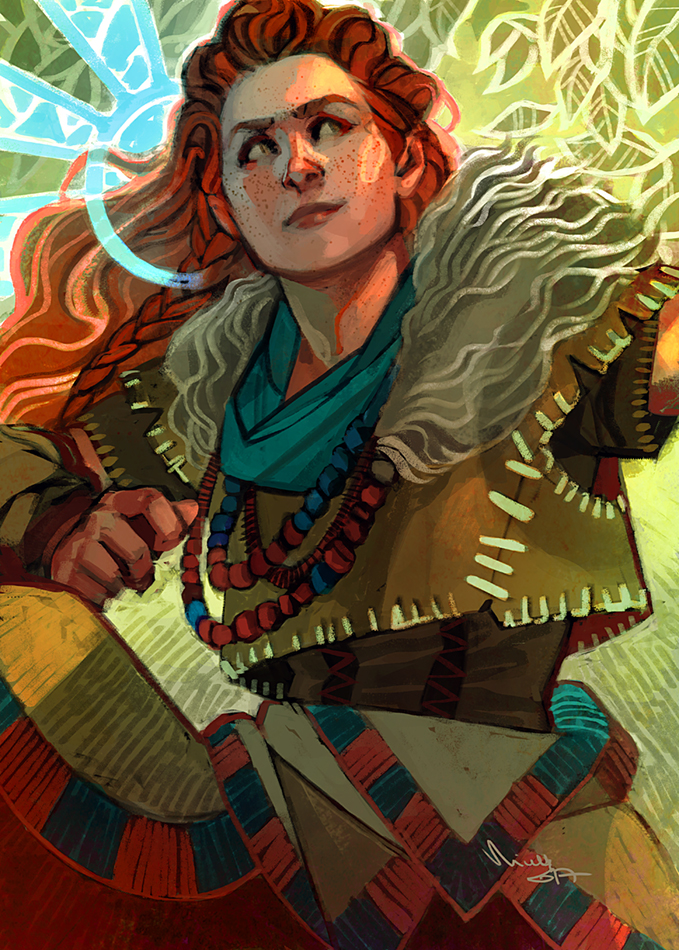 Aloy by TheMinttu