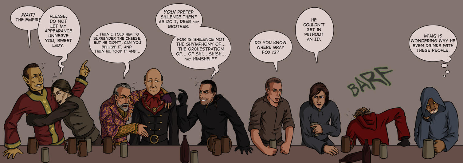 Oblivion: Boys' Night Out by TheMinttu