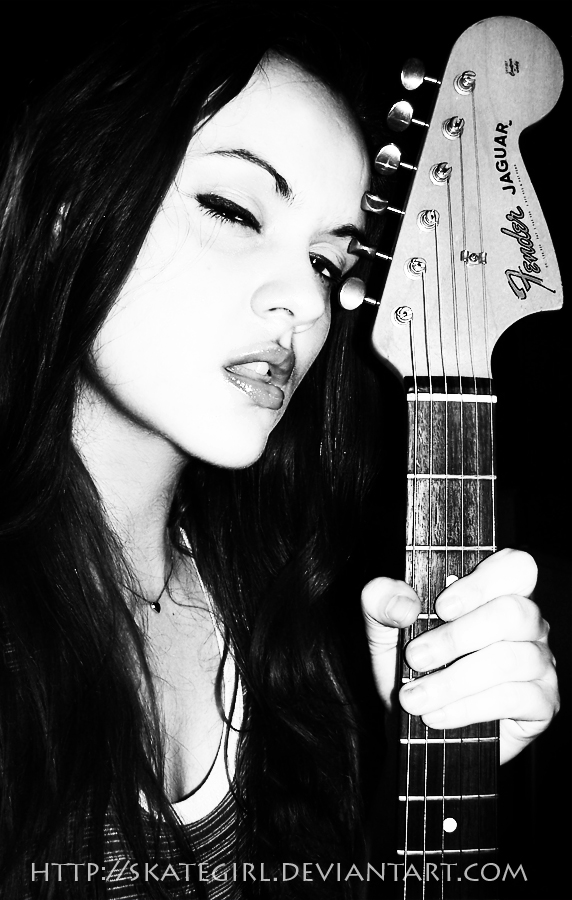 Guitar hero by SkategirlPhoto