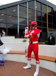 MCM Birmingham March 2016 - Red Ranger 2