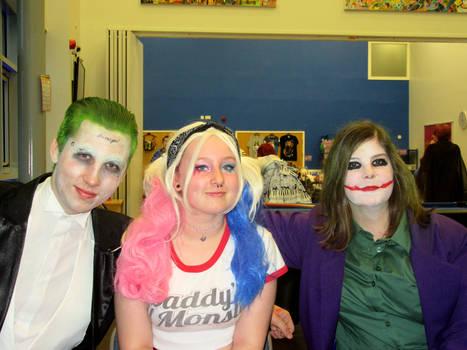 YCSC Halloween 2016 - Jokers + Harley 3