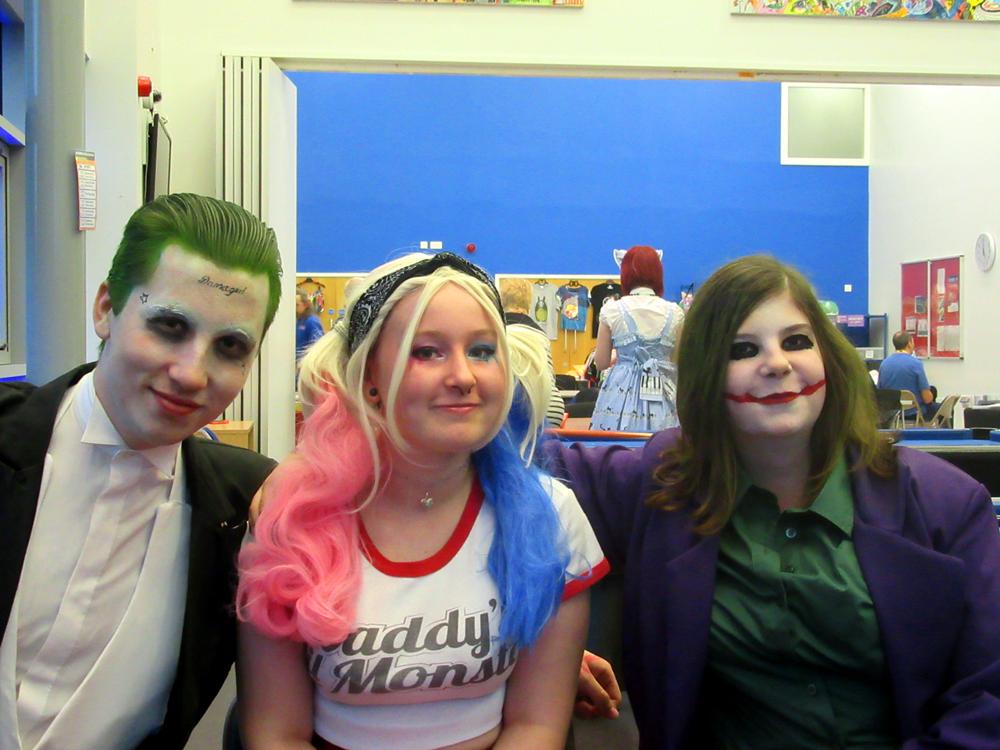 YCSC Halloween 2016 - Jokers + Harley 2