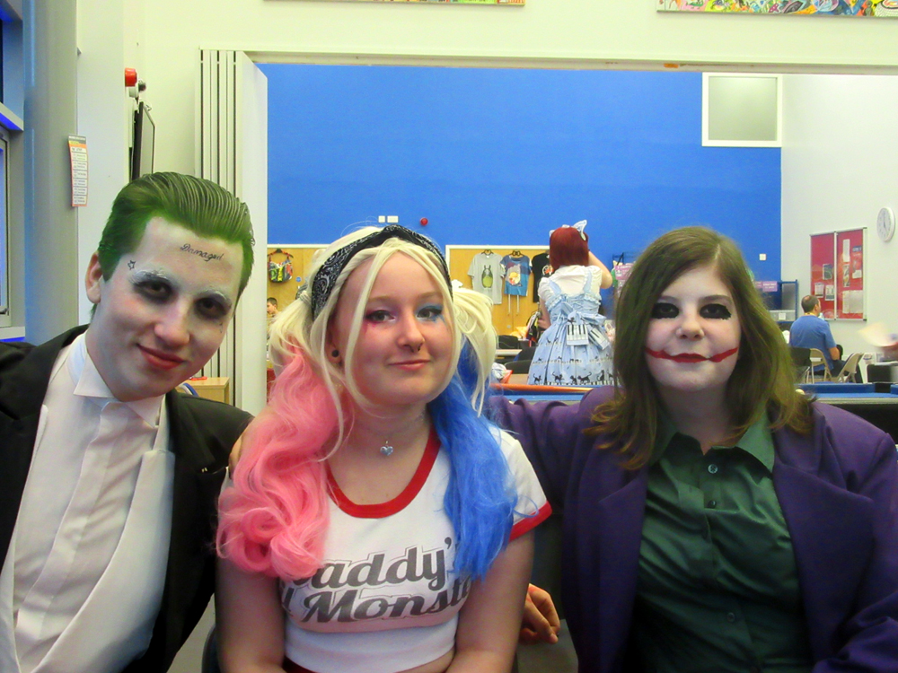YCSC Halloween 2016 - Jokers + Harley