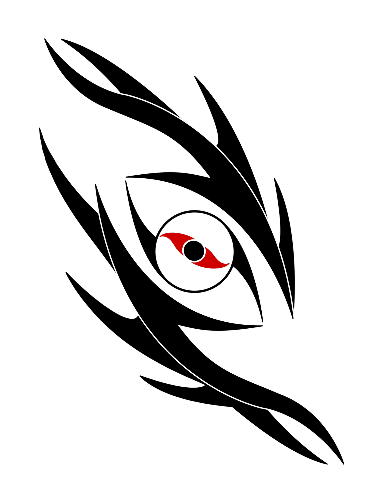 Tribal Dragon's Eye Tattoo by *Woodsman819 on deviantART