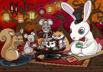 Mad Tea Party by Kiwi-Kwi