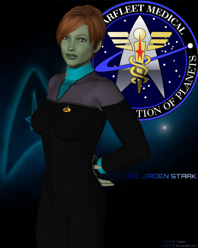 Dr. Jaiden Stark by knight776