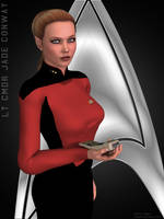 Lt. Cmdr. Jade Conway by knight776