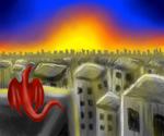 Cityscape Sunset Gazing by ZzRazorClawszZ