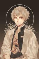 KNY: Sanemi Shinazugawa by pinedalomboy