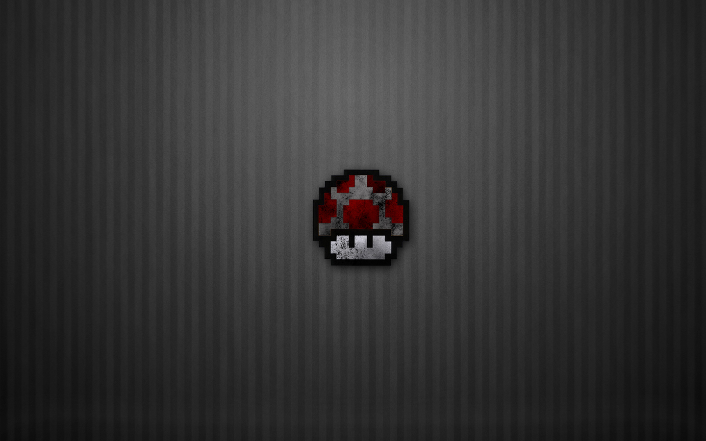 8-bit Dark Mushroom by Jim103