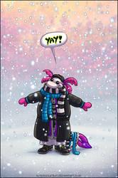 First Snow by ultravioletbat
