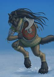 Warrior by ultravioletbat