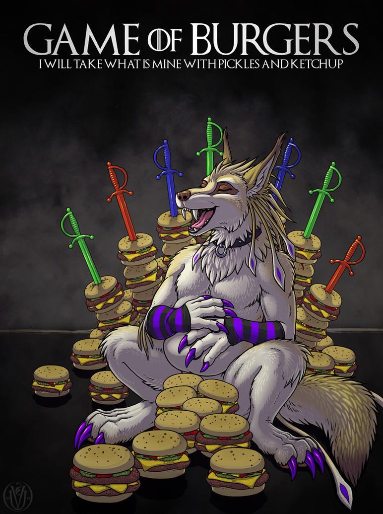 All Burgers Must Die! by ultravioletbat