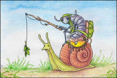 Slow Ride by ultravioletbat