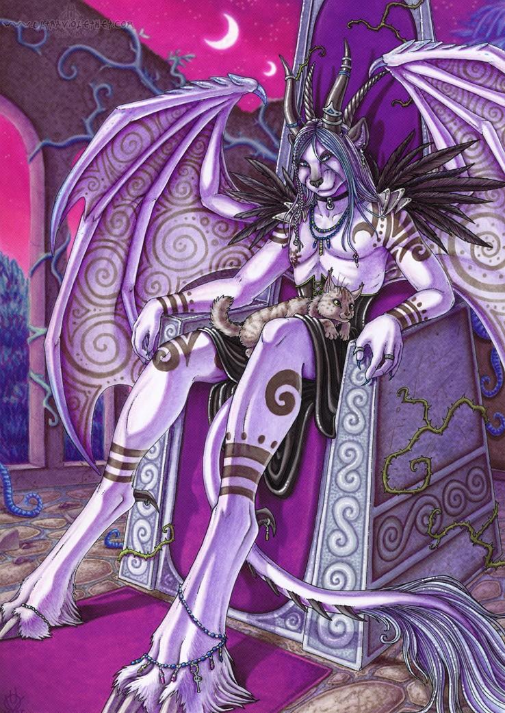 The Amaranthine Throne by ultravioletbat