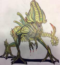 War of the Worlds Alien Xenomorph by Killosaur