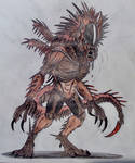 Werewolf Xenomorph by Killosaur