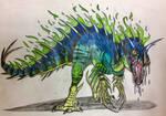 Radioactive Dinosaur Remake by Killosaur