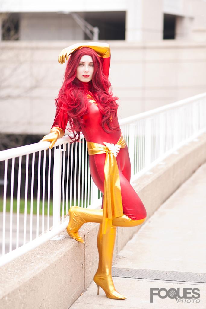 Dark Phoenix - Marvel Comics by jillian-lynn