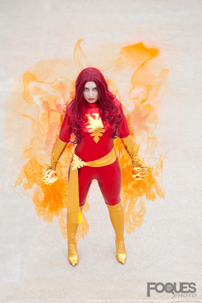 Dark Phoenix - Life and Fire Incarnate by jillian-lynn