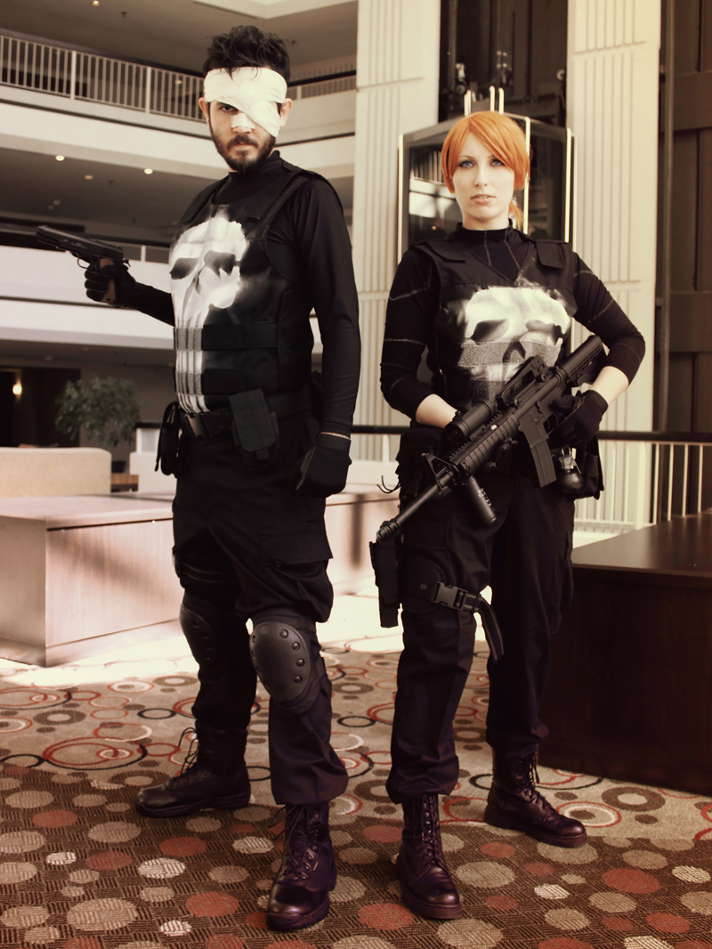 Frank Castle and Rachel Cole-Alves - The Punisher by ...