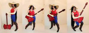 WIP: Marceline the Vampire Queen by jillian-lynn